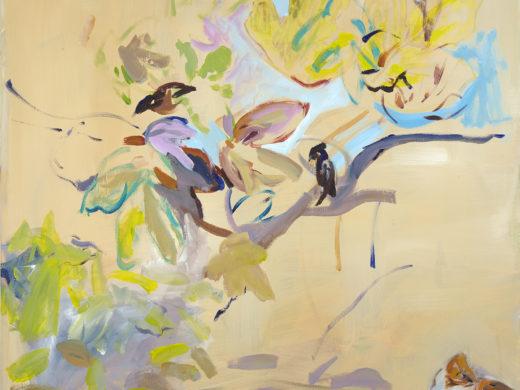 Tέλος εποχής - The end of an era - Acylics on canvas.100x100_1500px